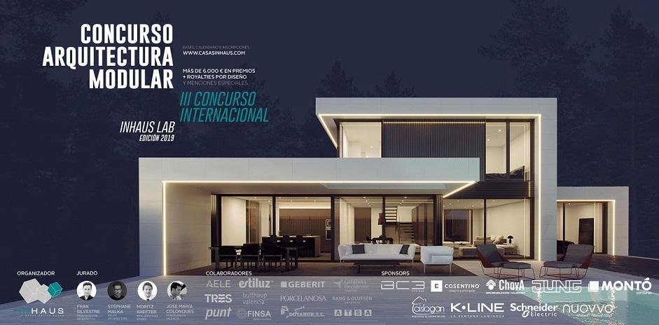 concurso de diseño in haus lab diseño de casas modulares