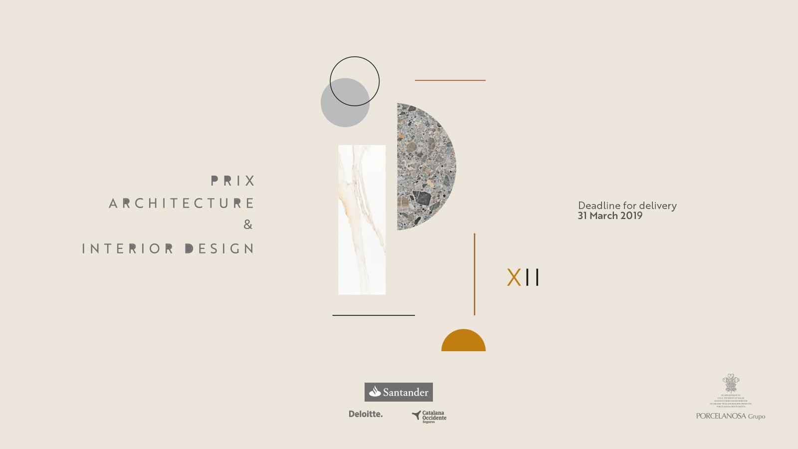 concursos de diseño 2019, design challenge 2019 Porcelanosa. Premios interiorismo y arquitectura