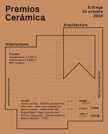 concursos de diseño 2019 premios ceramica ascer