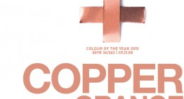 «COPPER ORANGE», Color Akzonobel para el año 2015!