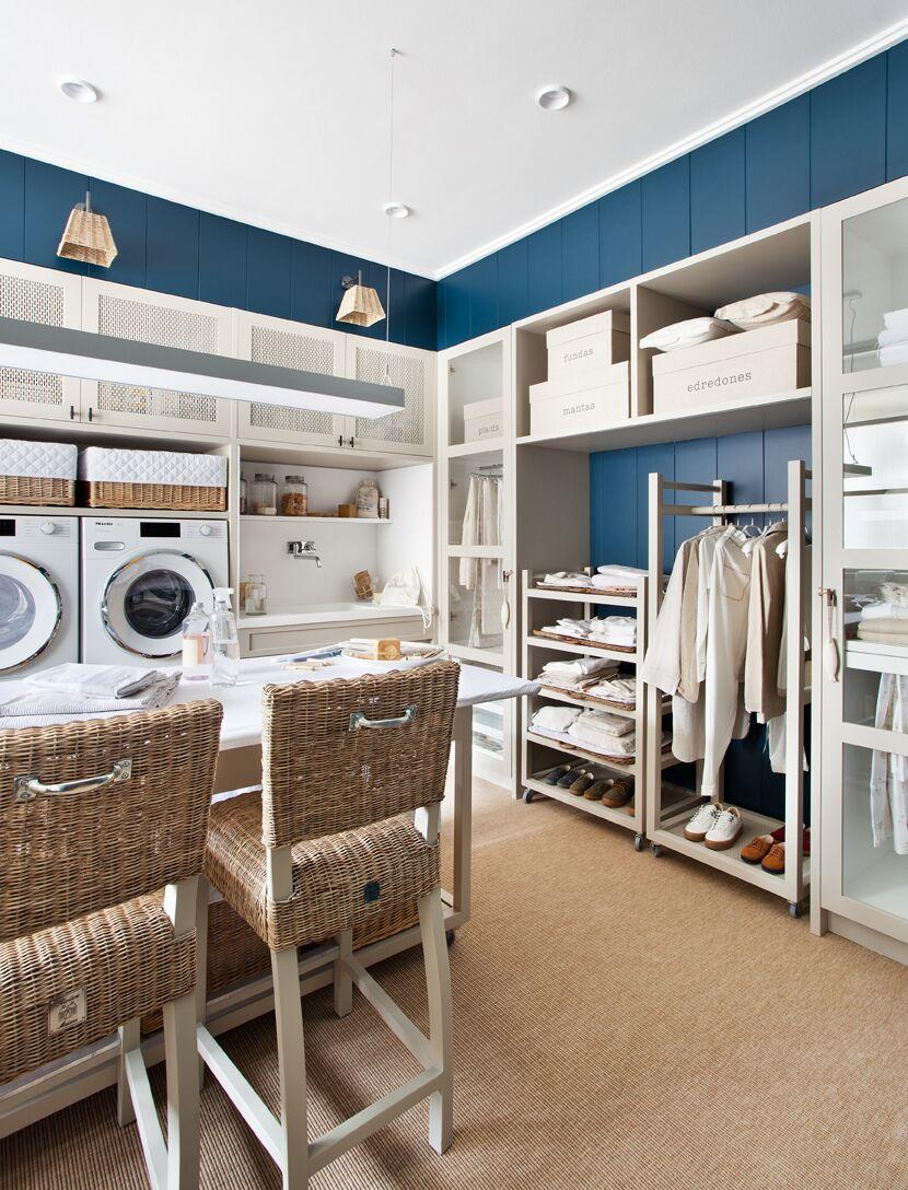 cuarto de lavado y plancha Deulonder Casa Decor 2020