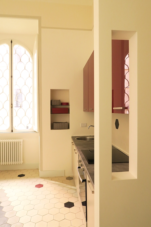 cucina reforma de apartamento en Roma. Francesca Bertuglia