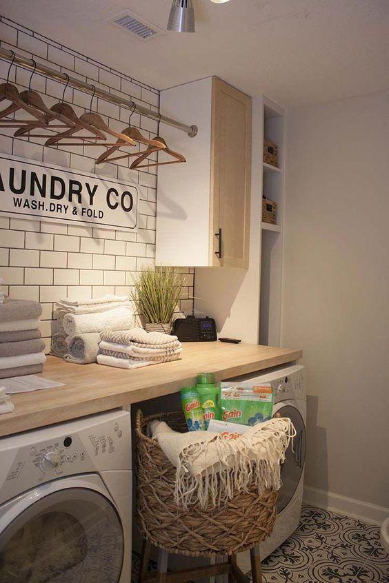 decora tu lavadero con glamour