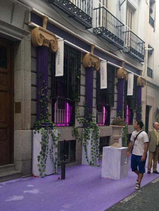 decoracción 2017. fachada Barrio de las Letras Madrid 2