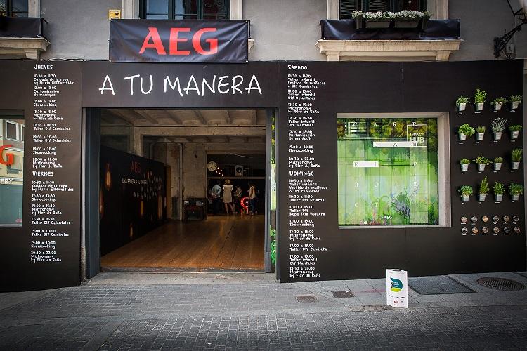 decoraccion 2017 decoracion fachada Barrio de las Letras aeg