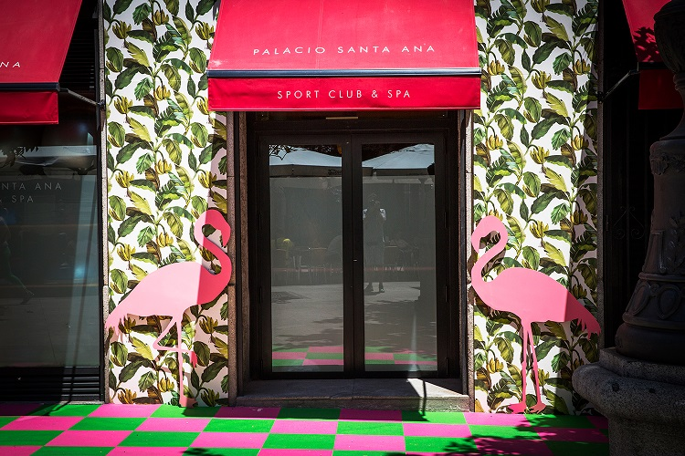 decoraccion 2017 decoracion fachada Barrio de las Letras palacio sport