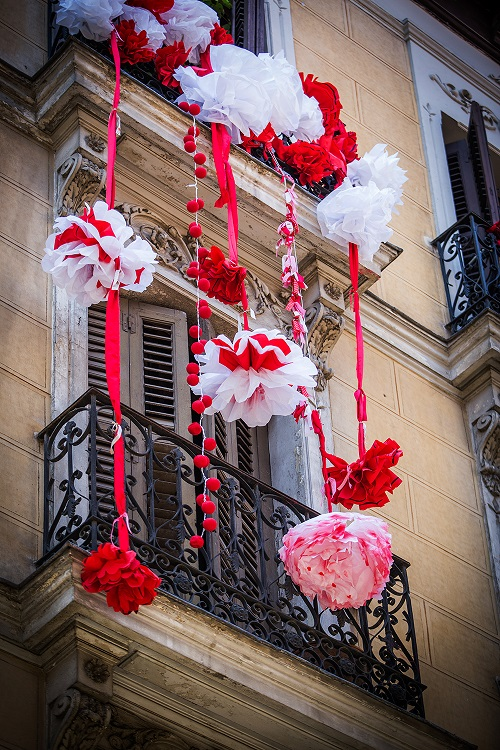 decoraccion 2017 decoracion fachada concurso de balcones mahou