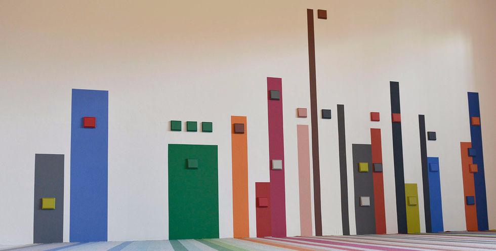 jung colores le corbusier. JUNG Y LE CORBUSIER . Mecanismos LS 990 Jung colores Le Corbusier