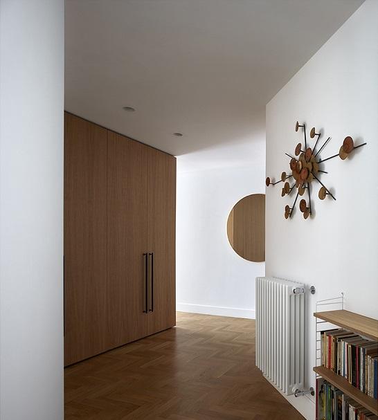 Decoracion y reiki. DG Arquitecto Valencia. Diseño pasillo