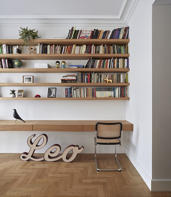 dg arquitecto valencia - reforma de oficina a vivienda
