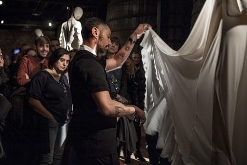 dia de la moda bodegs franco españolas logroño 2018. David Delfín