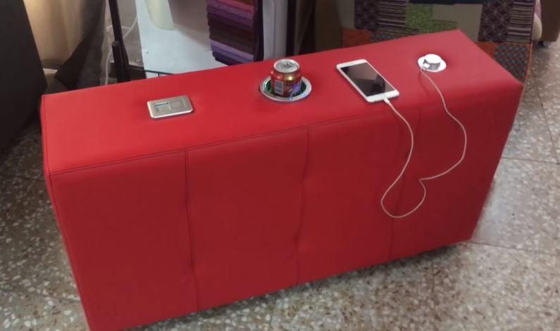 dispensador bebidas accesorios para sofa. sofavalencia.com