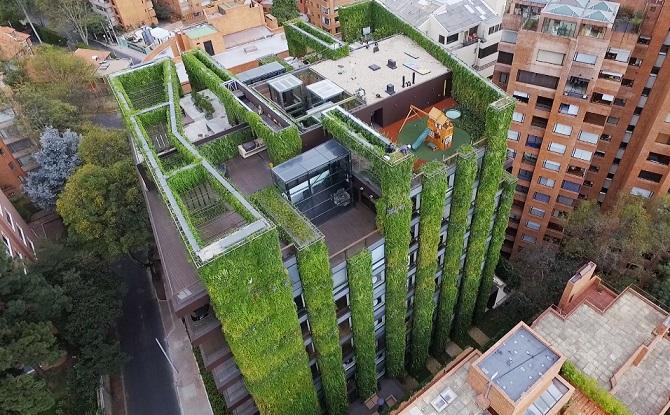 el jardin vertical mas grandel mundo. ignacio solano Tu reforma Bilbao ARQ-DECO del 21 al 29 de Noviembre 2017