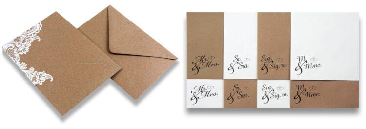 Sobres para bodas con direcciones impresas. el pais de los sobres . Envíos que dicen mucho de tu empresa. (1)