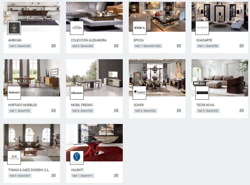 empresas españoles en salon del mueble de milán . Mueble de España. Furniture of Spain (1)