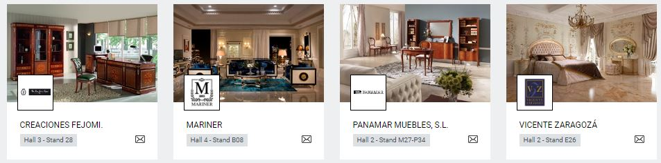 empresas españoles en salon del mueble de milán . Mueble de España. Furniture of Spain (2)