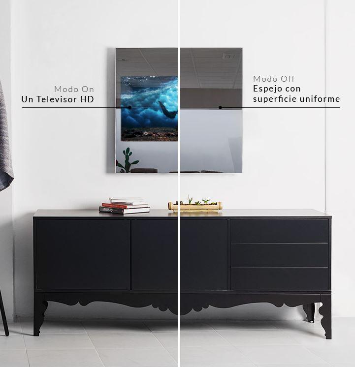Oculting, televisor espejo personalizable
