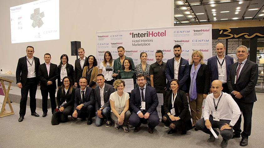 entrega de premios intercidec 2018 en interihotel Barcelona 2018
