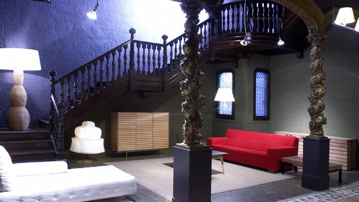 Escalera  Vincon Barcelona,  una tienda con historia.