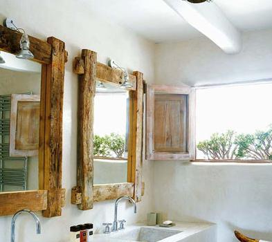 Espejos vintage madera 10decoracion - Espejos vintage ...