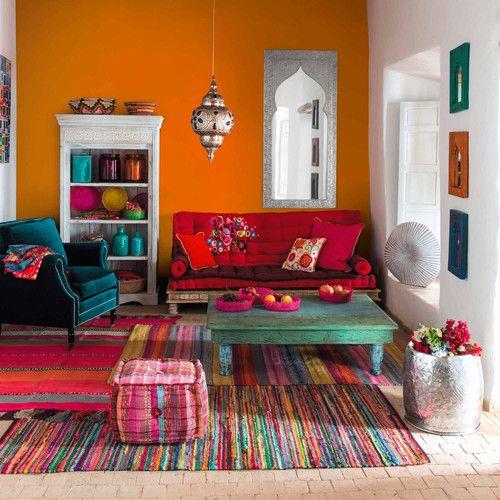estilo hindú . colores