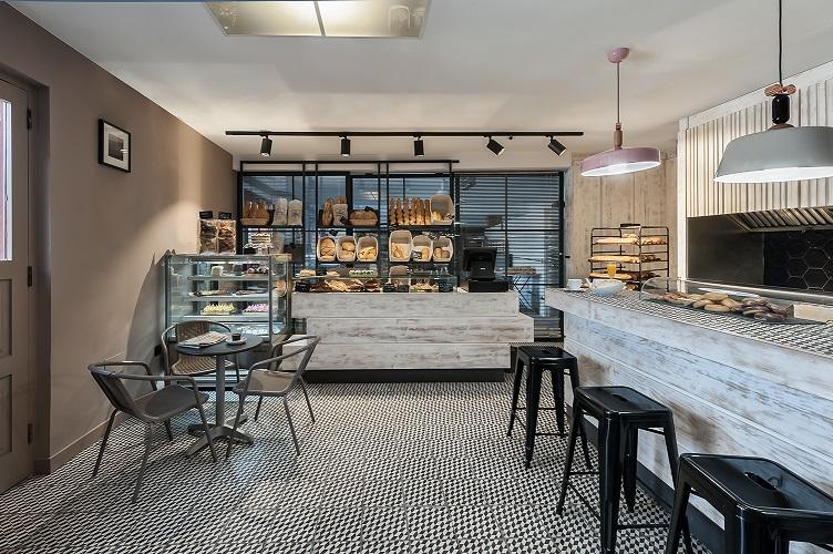 estilo vintage panaderia el pilar estudio mara pardo. Store Design. Diseño de tiendas