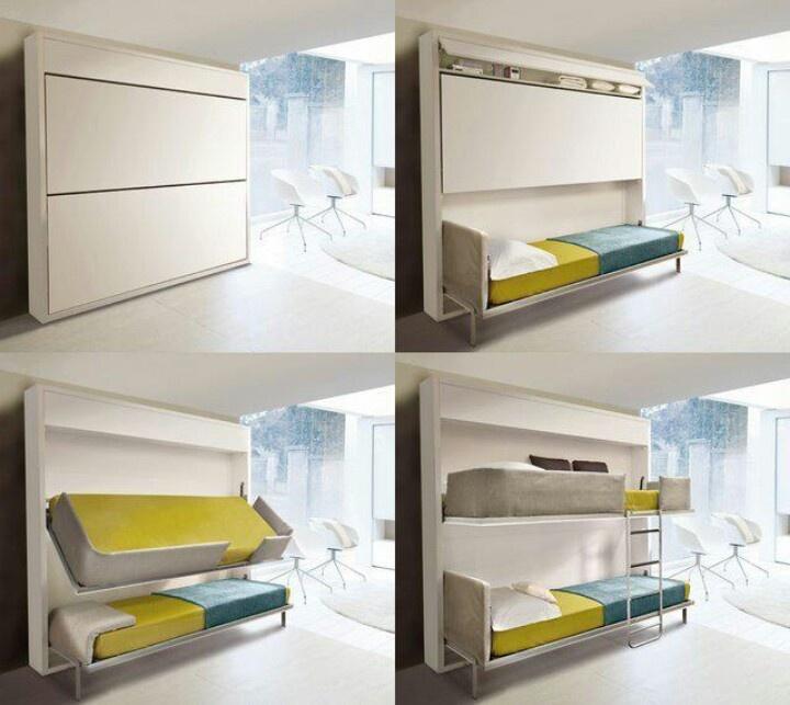 lolli soft sd literas Clei. muebles multifuncionales. Aprovechar espacio