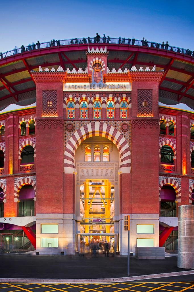 David Cardelús: fotografia de arquitectura e interiorismo Centro Comercial Las Arenas de Barcelona