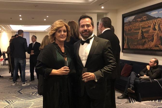 alex camarena y mara pardo. Gala de Premiaciones Cidi 2018 Mexico