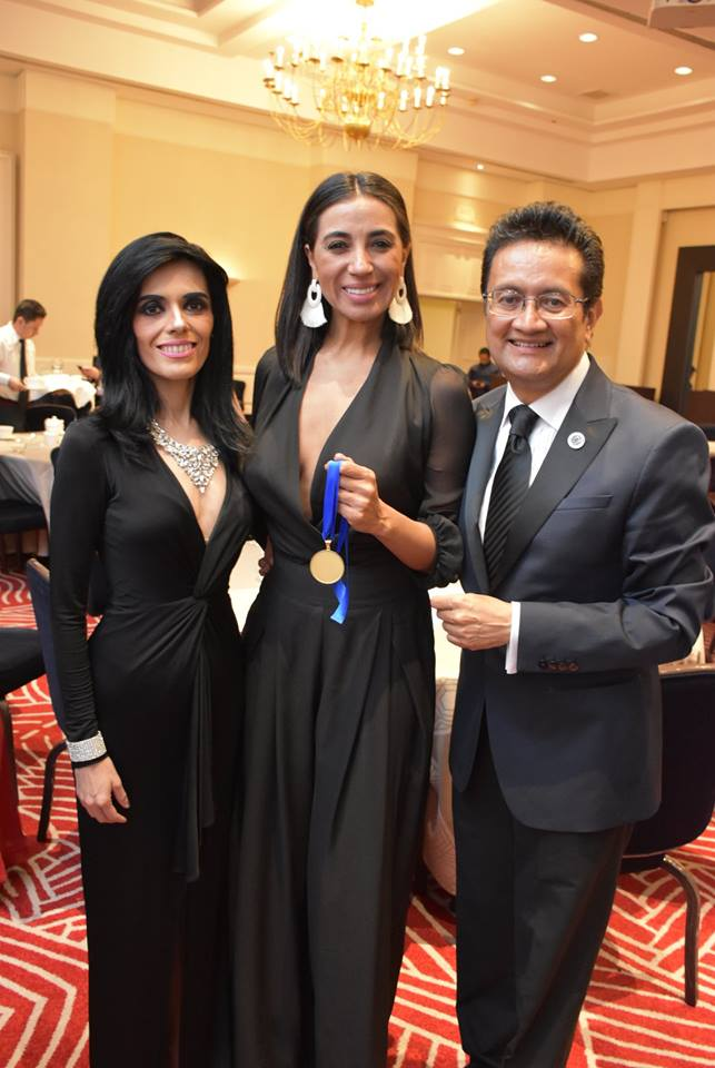gala premiaciones cidi 2018,roberta banqueri Brasil