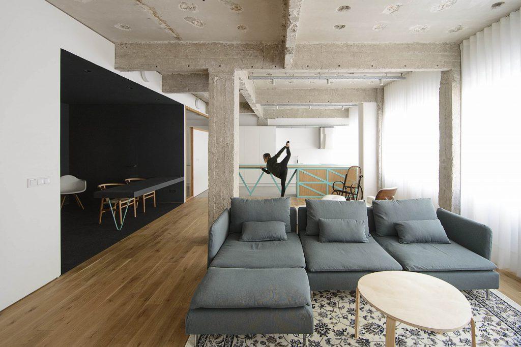 garmendia cordero arquitectos. reforma de oficina a vivienda en Bilbao (11)