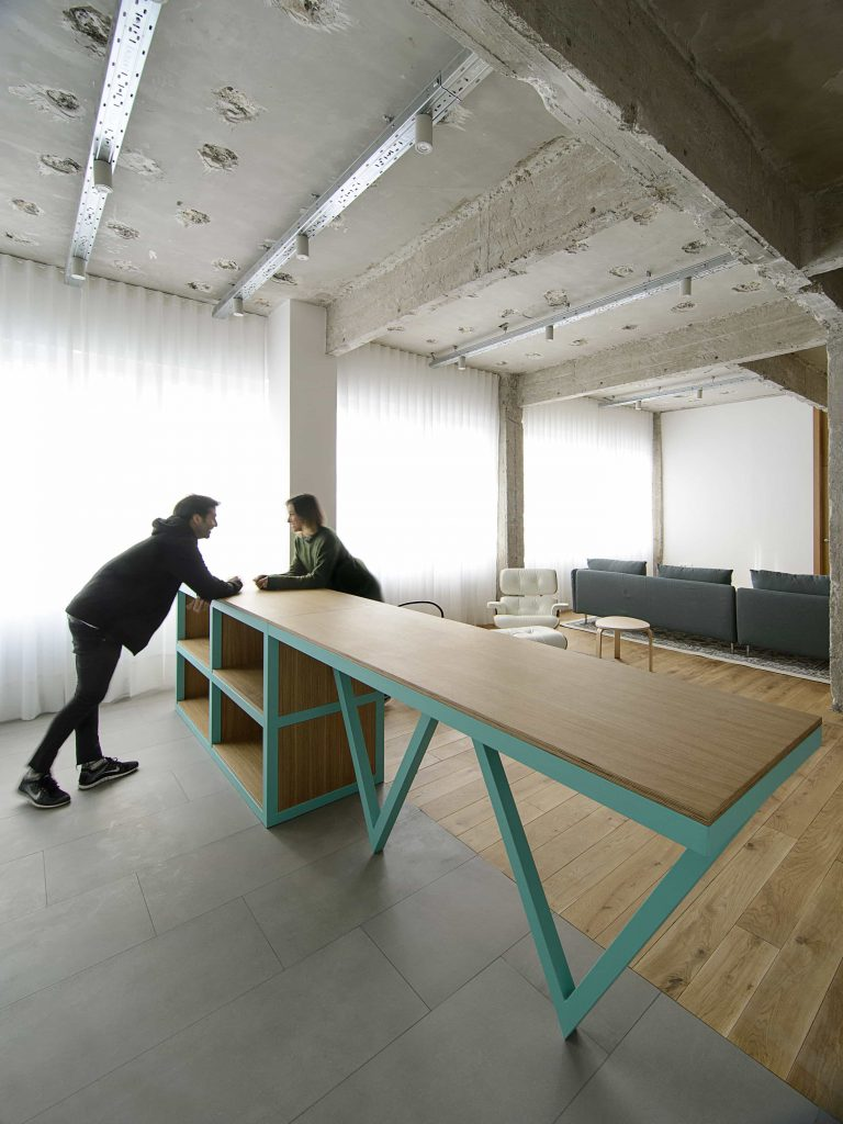 garmendia cordero arquitectos. reforma de oficina a vivienda en Bilbao (18)