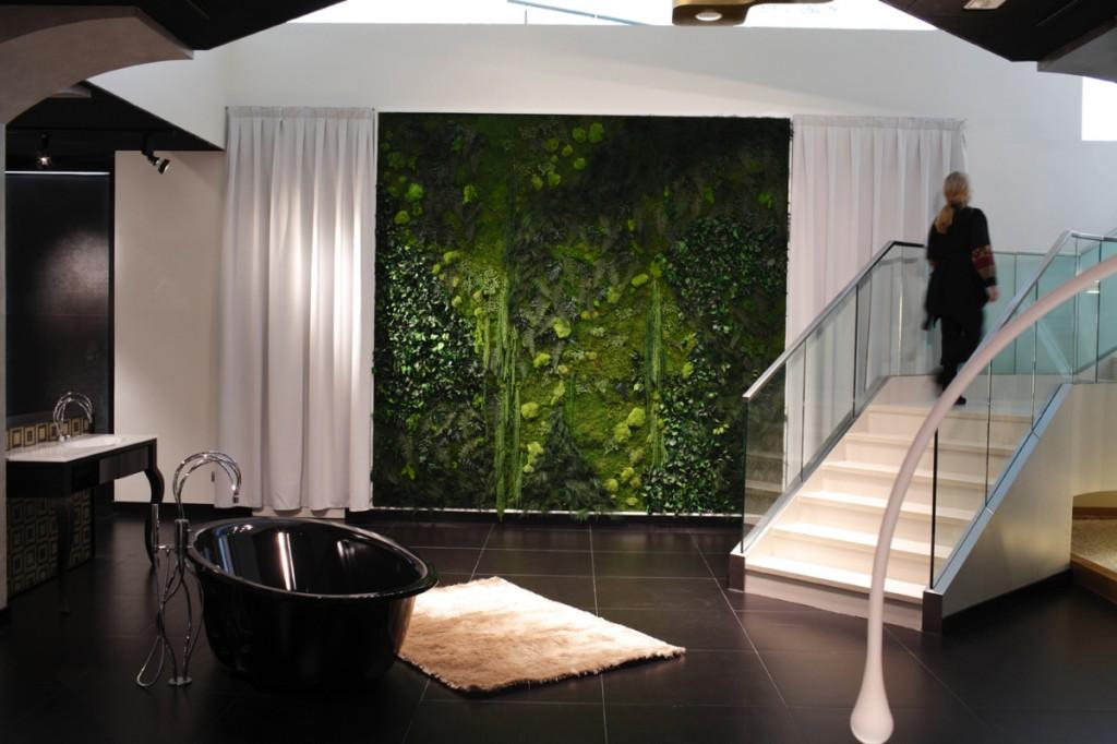 greendesign020 interior-casa-con-arboles-dentro Diseño y naturaleza. Jardín vertical