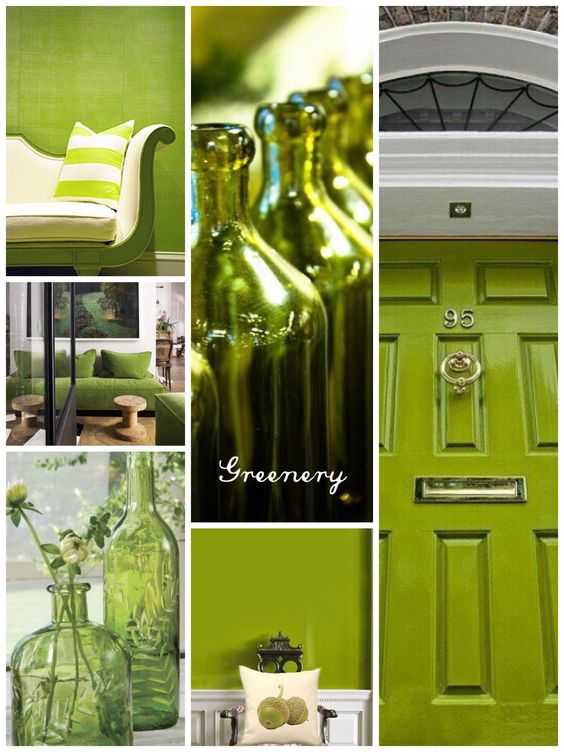 greenery color pantone 2017 tendencias en decoracion 2017
