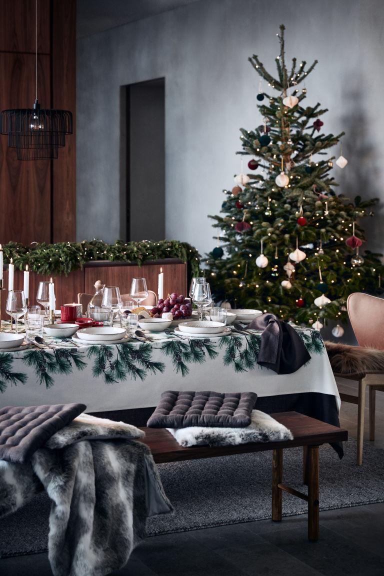 hm platos decoracion. mesas de navidad originales glaseados