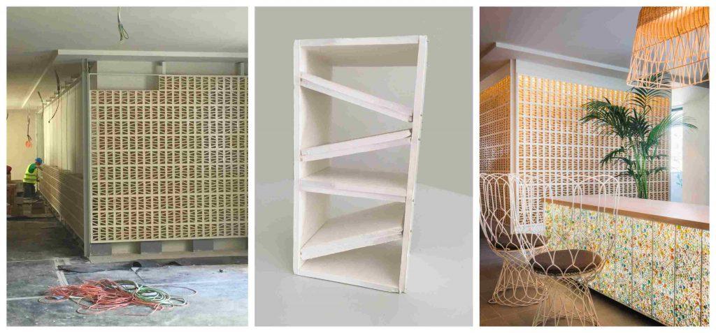Tendencias cerámicas 2019. hotel Me sitges Terramar . Me by Meliá diseño Lagranja design . escaleras