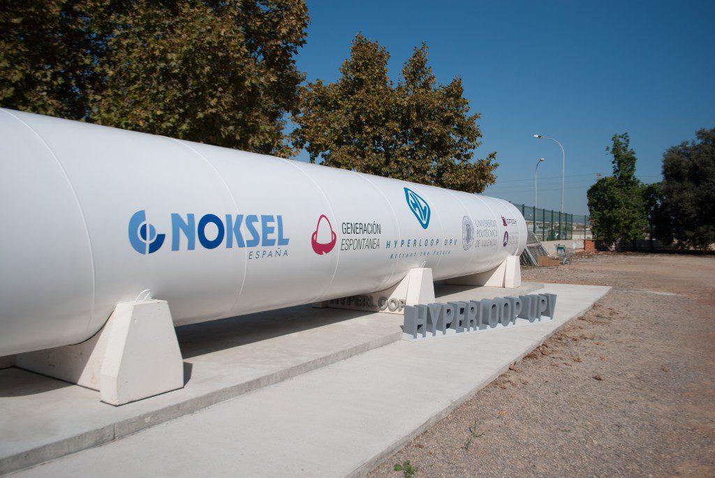 hyperloop tube Universidad politecnica de Valencia