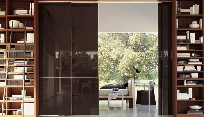 ideas-para-comunicar-estancias con puertas correderas