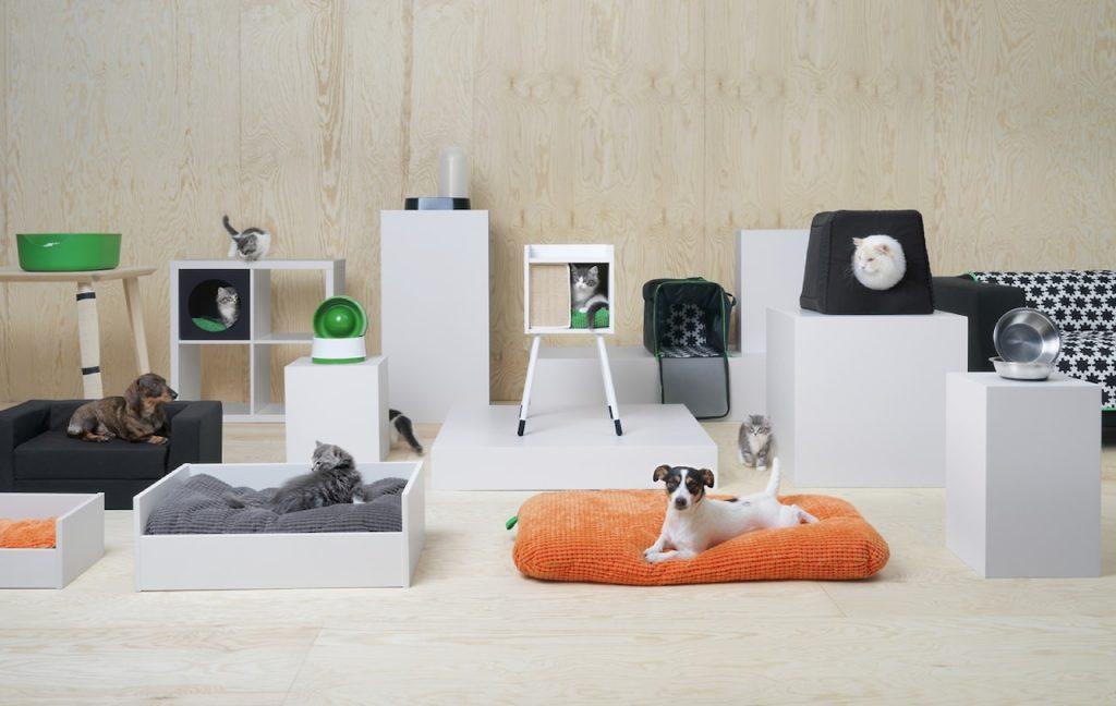 Colección para mascotas LURVIG de Ikea.