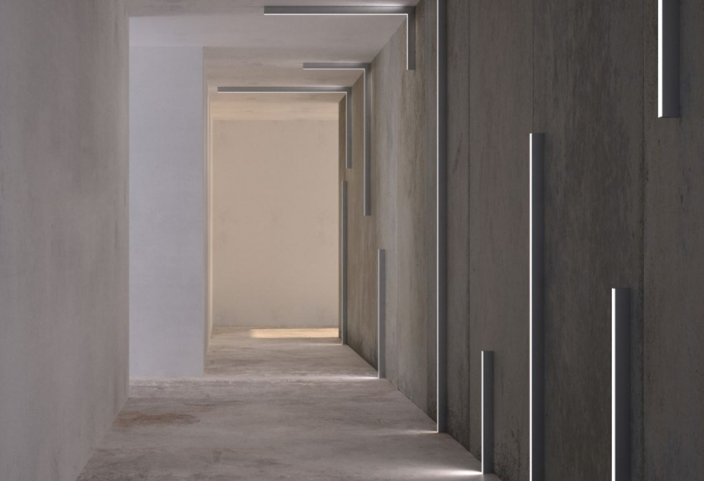 iluminacion pasillo LED leds c4