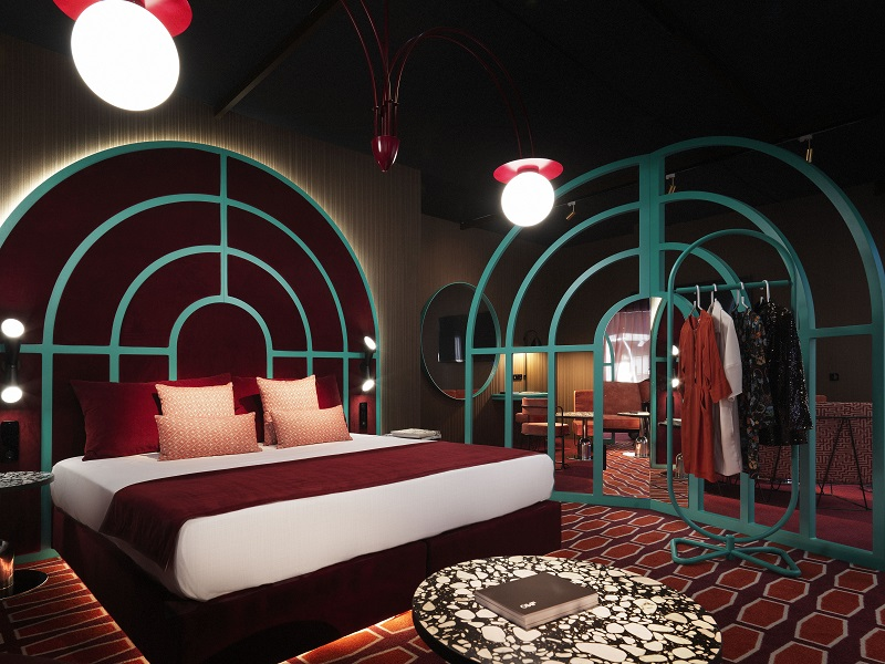 interihotel barcelona 2018 . Espacio habitación hotel IlmioDesign