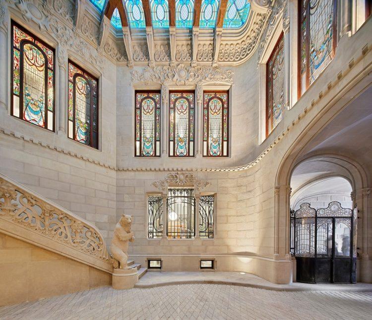 interiorismo edificio modernista Casa Bures .Vilablanch estudio (3)
