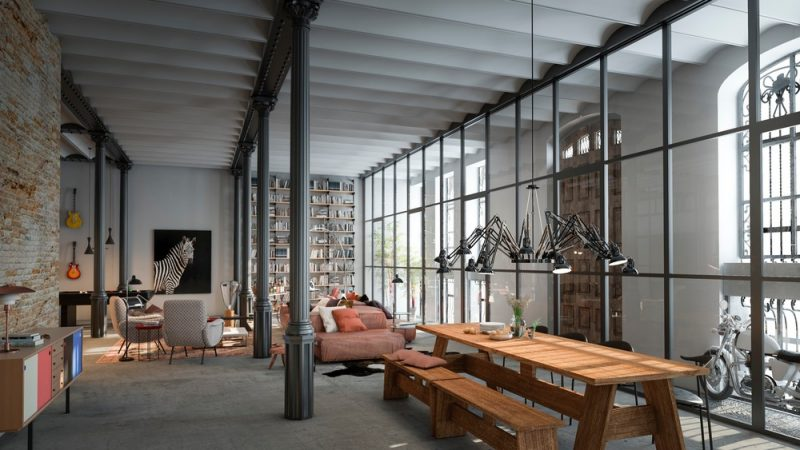 interiorismo edificio modernista Casa Bures .Vilablanch estudio (4)