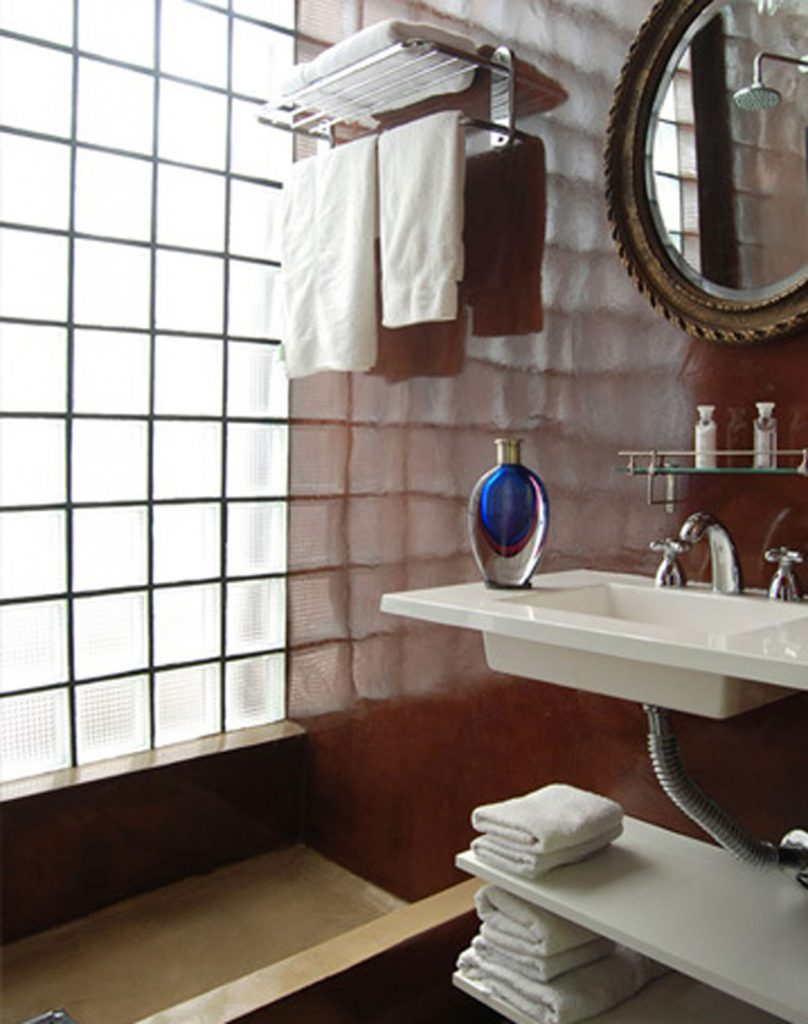 javier echenike casa oro buenos aires baño microcemento echenike