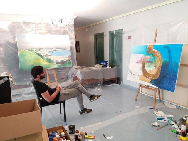 jeronimo Maya pintor sianoja 2018