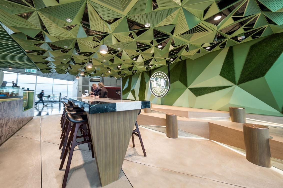 Karavanstop Cafe by One Bite Design Studio Photo credit: Tai Ngai Lung