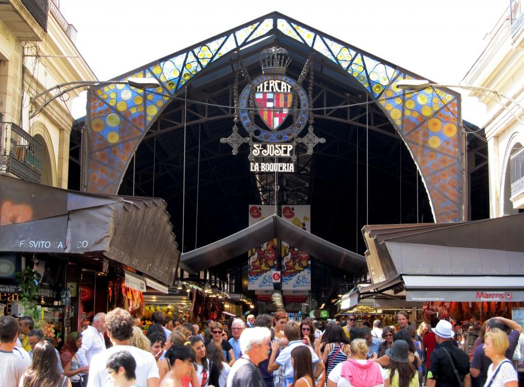 la-boqueria- Mercados en centros urbanos. Regeneración urbana