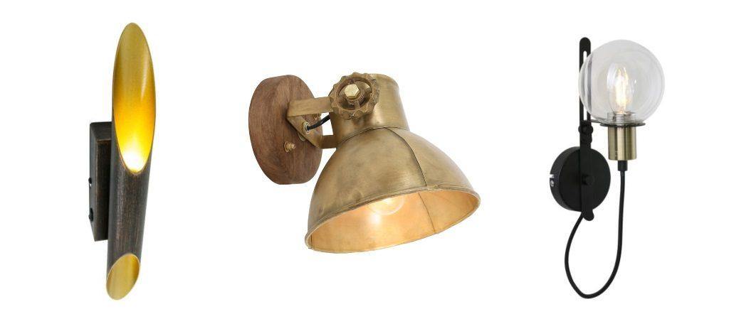 lamparasenlinea.es apliques originales vintage, industrial, retro, lamparas negras 1