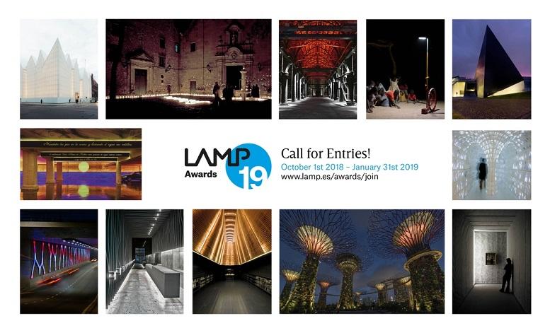 lamp awards for light designers. Concursos de diseño 2019. Design Challenge 2019
