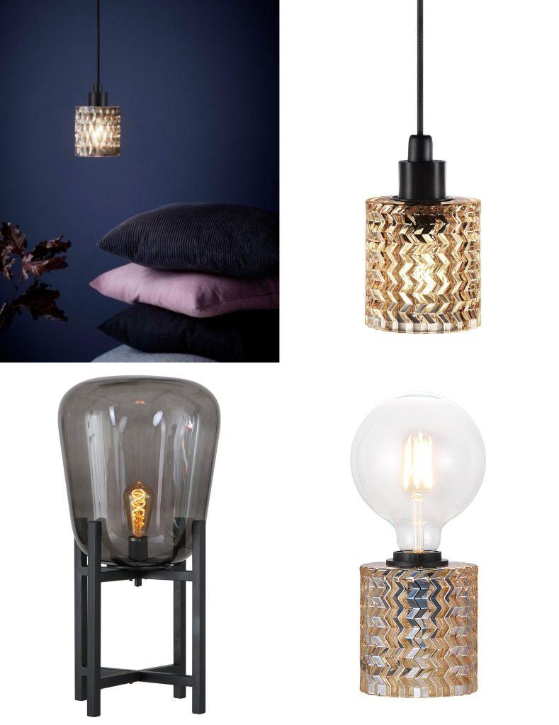 lamparasenlinea.es lamparas de cristal baratas de diseño retro vintage midcentury lamparas negras